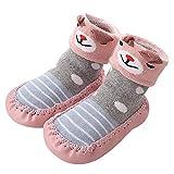 Vovotrade Cartoon Neugeborenes Babyschuhe Mädchen Jungen Anti-Slip Socken Slipper Stiefel Baby Hausschuhe Babysocken