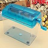 Tutoy Mini Plástico Quilling Fringe Herramienta De Corte Bricolaje Artesanal De Papel Artesanal Suministros De La Máquina-Azul