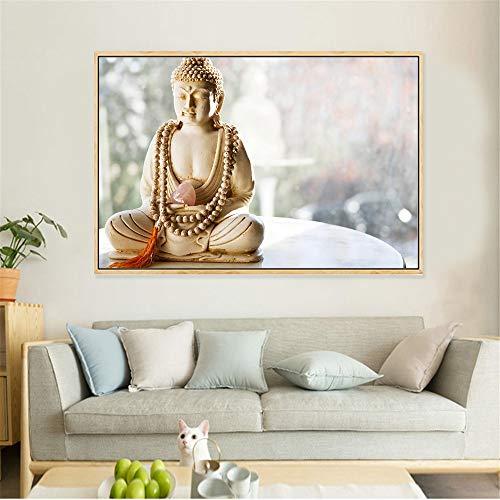 RQJOPE Pintura Decorativa Lámina Pared Buda Carteles