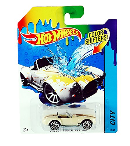 Hot Wheels City Color Shifters Shelby Cobra 427 S/C Car