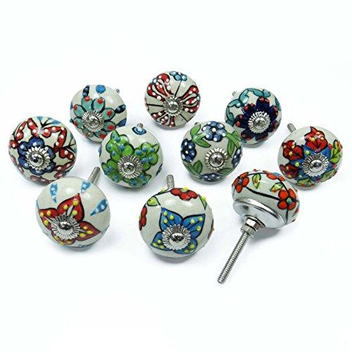 einzigartige-verschiedene-keramik-fach-zug-mobelknopfe
