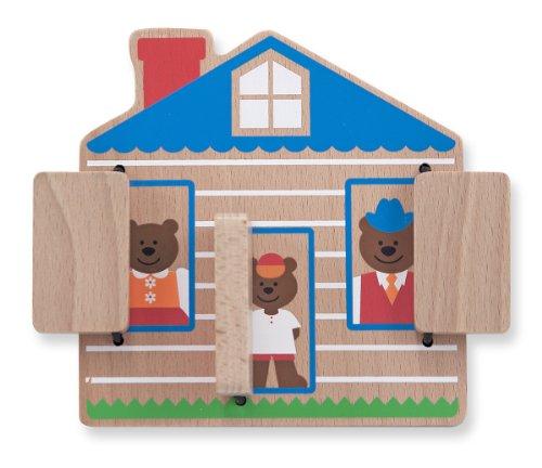 Melissa & Doug Peek-A-Boo House