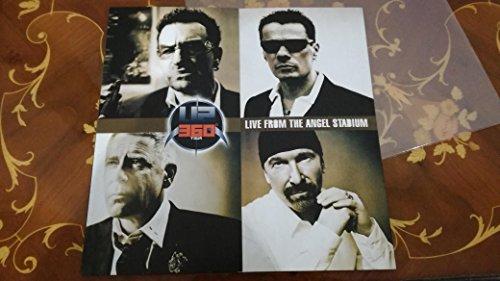 U2 LIVE FROM THE ANGEL STADIUM 360° TOUR 2 LP
