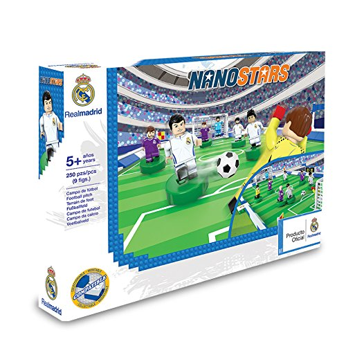 Nanostar RM - Estadio + 9 figuras, 250 piezas (Giochi Preziosi NAN0501