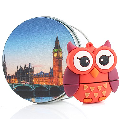 Die Kathedrale Von Port (USB Memory Stick USB Flash Drive Pink Cute Lovely Eule Tier mit Schlüssel Kette Geschenk/Geschenk 8g/16G/32G/64G rot big ben 16 GB)