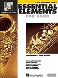 Essential Elements 2000: Alto Saxophone Book 1 (Buch/Online Audio). Für Ensemble, Alt-Saxophon