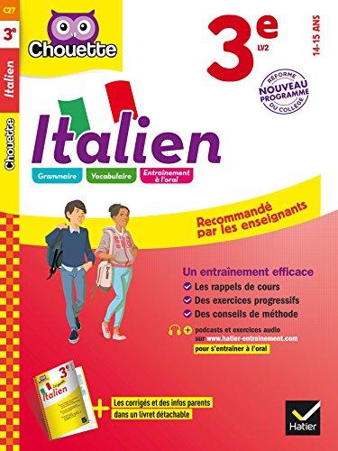 Italien 3e - LV2 (niveau A2): cahier d'entraînement et de révision par Dominique Fioravanti Poli