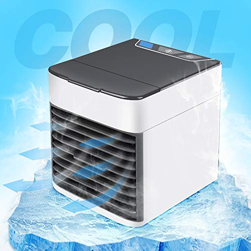 le Air Conditioner Arctic Air Cooler Humidifier Purifier LED Light Personal Space Fan Air Cooling Fan ()