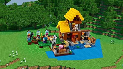 preisvergleich lego minecraft 21144 farmh uschen willbilliger. Black Bedroom Furniture Sets. Home Design Ideas