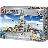 "Sluban Cruiser ""Army"" Building Kit (577-Piece)"
