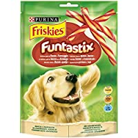 Purina - Friskies Funtastix Snacks para Perro - Pack de 6 x 175 g - Total 1050 g