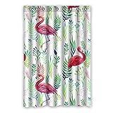 120 cm x183 cm (48 'x72') Bad Duschvorhang, General roten Flamingo Mode elegant die Bad Schatten, Eau de Toilette Verdunklungsvorhänge zu Fuß.