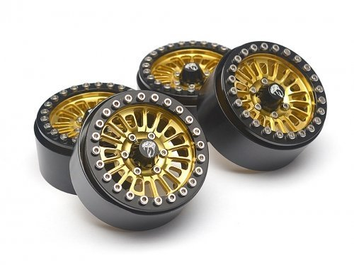 boom-racing-brw780902gd-venomous-kraita-a-19-aluminum-beadlock-wheels-with-8mm-wideners-4-gold