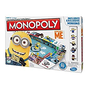 Hasbro Monopoly Despicable Me Property Trading Game with Exclusive Minions