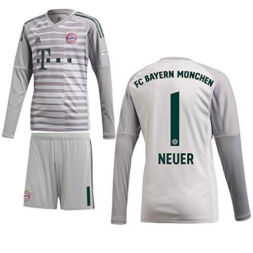 adidas FCB FC Bayern München Heim Torwartset 2018 2019 Kinder 1 Gr 176