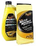 MEGUIAR'S MEGUIARS Ultimate Wash & Wax Autoshampoo & Water Magnet Mikrofasertuch