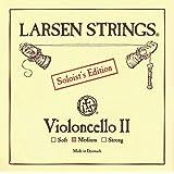 Larsen Saiten für Cello Ré acier chromé Soloist's Edition ll 4/4; Medium