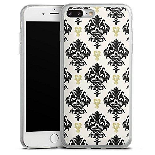 Apple iPhone X Slim Case Silikon Hülle Schutzhülle Ornamente Muster Abstrakt Silikon Slim Case transparent