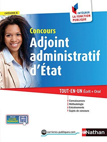 Concours Adjoint administratif d'Etat par Laurent Barnet, Danièle Bon, Stéphane Gachet, Philippe Margenti