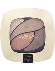 L'Oréal Paris Farbe Riche Eye Shadow Quad - E2 Beloved Akt / Nude Lingerie - Packung mit 6