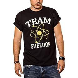 Camiseta Friki Hombre Team Sheldon Big Bang Theory XL