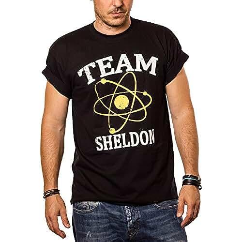 dia del orgullo friki Camiseta Friki Hombre TEAM SHELDON