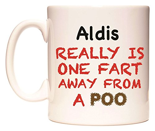 Aldis REALLY IS ONE FART AWAY FROM A POO Becher von WeDoMugs