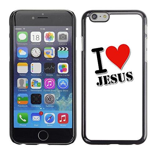 Graphic4You Jesus Christian Design Harte Hülle Case Tasche Schutzhülle für Apple iPhone 6 / 6S Design #6
