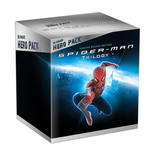 Spider-Man - Trilogie - Coffret collector avec la figurine Venom - Edition limitée exclusive Amazon.fr [Blu-ray]