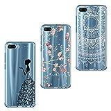 ivencase 3X Cover Honor 10 Silicone Huawei Honor 10 Cover Morbido TPU Flessibile Gomma Opaco...