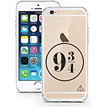iPhone 7 Carcasa de licaso® para el patrón de Apple iPhone 7 TPU Silicona Ultra Fina protege tu iPhone 7 es elegante funda Bumper en un, 9 3/4 Harry Potter, iPhone 7