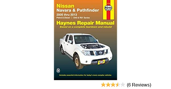 nissan navara and pathfinder aus amazon co uk haynes publishing rh amazon co uk Cougar Workshop Manual Haynes Auto Repair Manuals