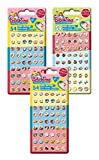 Craze 14424 Sticker Earrings, Bibi und Tina, 162 Klebeohrringe, Unisex-Child