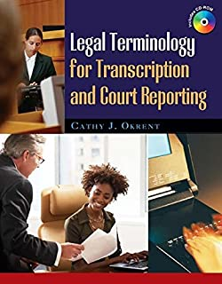 Legal Terminology for Transcription and Court Reporting (1418060852) | Amazon price tracker / tracking, Amazon price history charts, Amazon price watches, Amazon price drop alerts