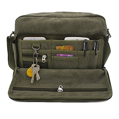 Aeoss Multifunction Men Canvas Bag Casual Travel Bolsa Masculina Men'S Crossbody Bag Men Messenger Bags