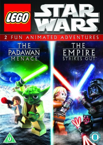 LEGO Star Wars: The Padawan Menace / The Empire Strikes Out Double Pack [DVD] by David Scott