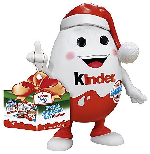 Kinder Mix Cadeau Noël Tirelire 131g