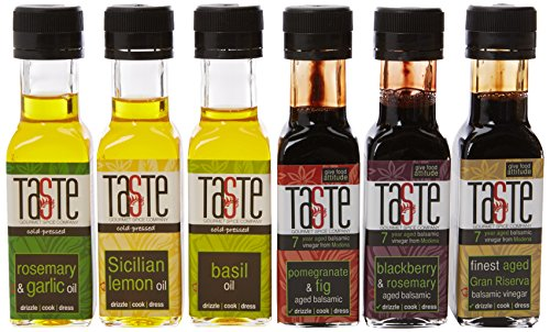 Gourmet Spice Company Super Six Infused Oil and Aged Balsamic Vinegar Collection