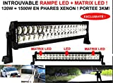 Unbekannt LCM2014 ECLAIRAGE 1KM mit LA Power Matrix LED LED-Scheinwerfer + Matrix LED Leistung 120 W Entspricht 1500 W Xenon HALLUCINANT 4X4 Camping-Car Rallye LKW Boot
