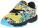ASICS Noosa Tri 11 TS Running Shoe (Toddler), Sun/Scuba Blue/Black, 5 M US Toddler
