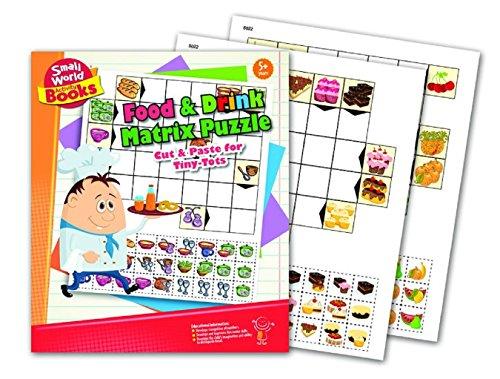 Matrix-trinken (Small World Aktivität Bücher Matrix Essen und Trinken Science Kit Puzzle)