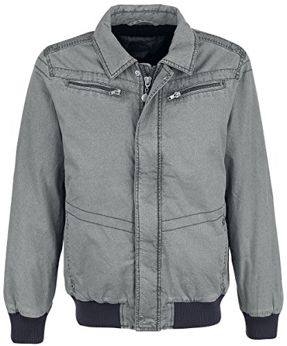 R.E.D. by EMP Pale Cotton Jacket Giacca antracite XXL