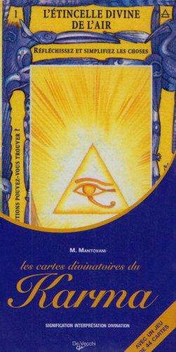Les Cartes Divinatoires du Karma : Coffret Cartes + Livre