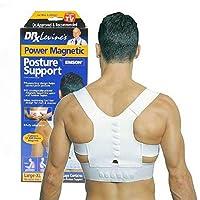 Ducomi TutorStay - Magnetic Posture Brace for Back - Posture Corrector and Shoulder Support - Corrective Support Brace Man Magnetic