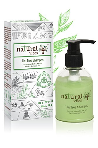 Natural Vibes Ayurvedic Tea Tree Shampoo, 150ml