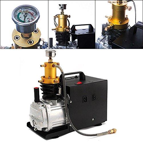 220V 30MPA 4500PSI Compresseur Pompe à Air Electrique Haute Pression 18000W Pompe d'air électrique à Haute Pression Ajustement Automatique pour le Gonfleur