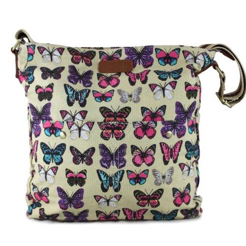 Accessorize-me., sac bandoulière pour femme - Beige