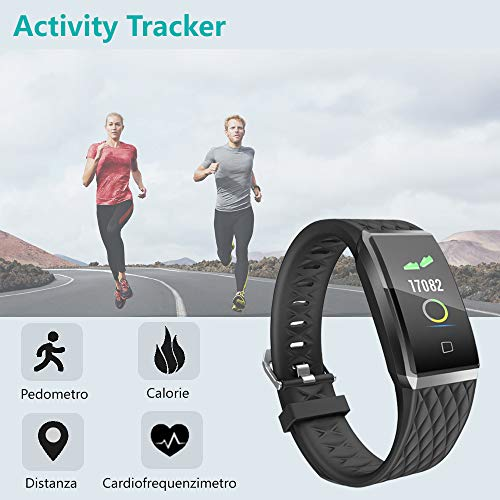Zoom IMG-2 willful fitness tracker smartwatch orologio