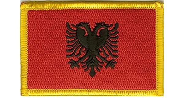 U24 Badges lAlbanie thermocollant patch