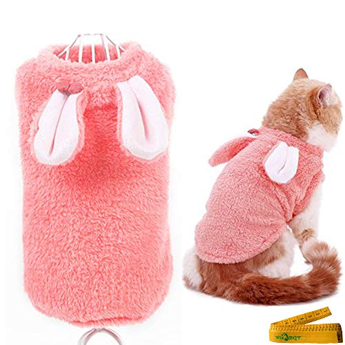 Wiz BBQT Kostüm für Haustiere, Katzen, Welpen, Kleine Hunde, Katzen, Kaninchen, L, - Gruselige Kaninchen Kostüm